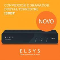 Conversor E Gravador Digital HD ISDBT - Elsys -