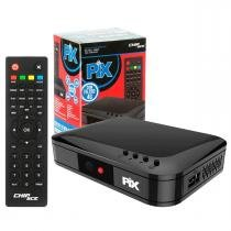 Conversor Receptor Gravador de Tv Digital Hdtv Filtro 4g HDMI 1080P Pix Chipsce SC-1001 - Chip sce