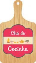 Convite Duster Chá De Cozinha Tábua C/8 Peças -