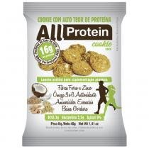 Cookie proteico de Coco - 16 unidades de 40g - 640g - All Protein -