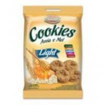 Cookies biosoft light aveia e mel 170g -