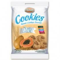 Cookies diet mamão e linhaça dourada 150g - Biosoft