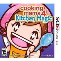 Cooking mama 4: kitchen magic - 3ds - Nintendo