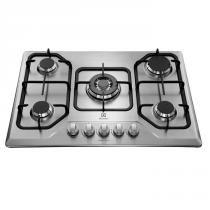 Cooktop à Gás 5 Bocas GT75X Inox Bivolt - Electrolux - Electrolux