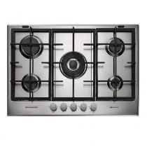Cooktop a Gás Brastemp Gourmand 5 Queimadores Inox 75Cm 220V BDK75DRBNA - Brastemp