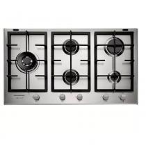 Cooktop a Gás Brastemp Gourmand 5 Queimadores Inox 90 cm 220V BDK90DRBNA - Brastemp