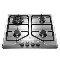 Cooktop a Gás Electrolux 4 Queimadores GT60X Tripla Chama Inox Bivolt 23604DBA089 - Bivolt - Electrolux