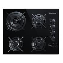 Cooktop Brastemp Ative! 4 bocas Touch Time - Brastemp