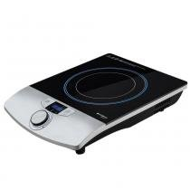 Cooktop Cadence Gourmet 1 Boca Vidro Preto Indução 127V - FOG600 -