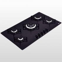 Cooktop Em Vidro Glass Penta Plus 5 Chamas 94709/201 Tramontina - Bivolt - TRAMONTINA