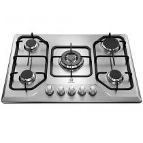 Cooktop Gás 5 Queimadores Electrolux GT75X Tripla Chama Inox 23755DBI089 - Electrolux