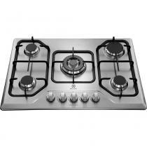 Cooktop Inox 5 Bocas Tripla Chama Superautomático GT75X - Electrolux -