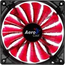 Cooler Fan 12cm SHARK DEVIL RED EDITION LED EN55437 Vermelho AEROCOOL -