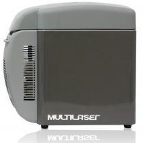 Cooler Portátil 12V 7 Litros Cinza TV008 - Multilaser - Multilaser