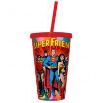 Copo Canudo Dc Comics Super Friends - Versare anos dourados