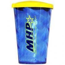 Copo com tampa - 600ml Azul - MHP -