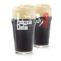 Copo de Cerveja Stout O Poderoso Chefao Don Corleone - Gorila Clube