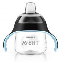 Copo de Treinamento 6m+ Pinguim Preto 200ml - Philips Avent - Philips Avent