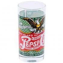 Copo De Vidro Pepsi Cola Retrô Verde - Versare anos dourados