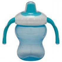 Copo Girotondo Baby com Alça e Bico Macio - Azul - Neutra - Girotondo Baby