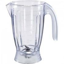 Copo liquidificador com alca e helice ri1760/ri1764/ri2030/ri2034 transparente philips walita -