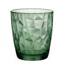 Copo para whisky diamond bormioli verde 390ml - Bormioli