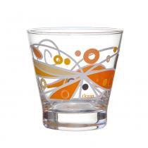 Copos Baixos Bossa Butterfly 345 ml 6 Peças Orange Laranja Ocean - Ocean