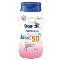 Coppertone Baby Loção FPS 50 Bayer - Protetor Solar - 125ml - Coppertone