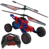 Copter Racer - Rádio Controle Marvel - Spider Man - Candide