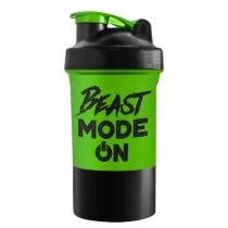 Coqueteleira 2 doses - Beast Mode On 500 ml - PowerFoods - PowerFoods