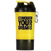 Coqueteleira Shaker c/ Divisória - 500ml - Iridium Labs -