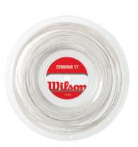 Corda Stamina 17 Rolo 200M Branco - Wilson - Branco - Wilson