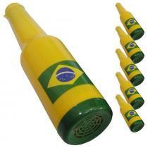 Corneta Garrafa Copa do Mundo AMARELO 5 PEÇAS CBRN06144 - Commerce brasil
