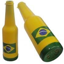 Corneta garrafa torcida brasil olimpiada colorida 10699 - Amarelo - Kriart