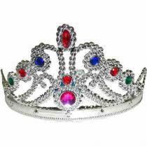 Coroa Tiara Bloco Carnaval Festa Fantasia Princesa Infantil (BSL-2653-4) - Braslu