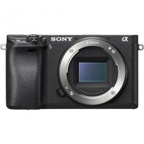 Corpo Sony Alpha A6300 4K Com Wifi - Black -