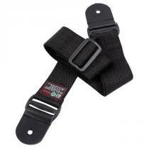 Correia Lisa 5cm Nylon Ponteira de Couro Simples CSP Preta - Ibox - Ibox
