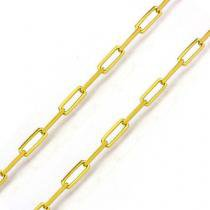 Corrente de Ouro 18K Cartier Longa 1,0mm com 65cm co01845 - Joiasgold