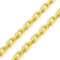 Corrente de Ouro 18k Cartier Redonda 1,4mm com 60CM co01527 - Joiasgold
