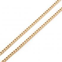 Corrente de Ouro 18k Groumet de 5,3mm com 60cm co02529 - Joiasgold
