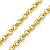 Corrente em Ouro 18k Portuguesa 1,7mm com 60cm co01630 - Joiasgold