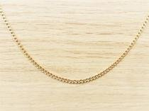 Corrente Masculina Grumet 70cm 2mm Largura Folheada á Ouro. Cod: 1923 - Gabriela costa semi jóias