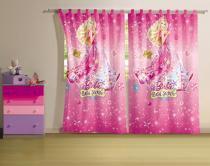 Cortina 2 Peças Barbie e o Portal Secreto  Lepper -