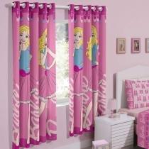 Cortina Barbie Sweet  Santista - CasaTema