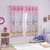 Cortina Colore Kids em Pongee Estampado 2,00x1,80m Havan - Havan