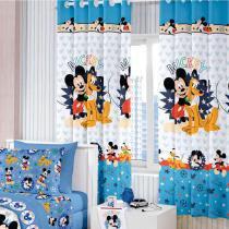 Cortina Disney 280x180 Santista - Mickey - Santista