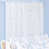 Cortina Varão com Forro 2.00 x 1.80 m Imperial Azul - Batistela Baby - Batistela