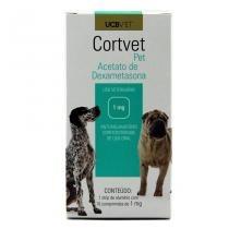 CortVet Pet 1mg 10 comp UCBVet Anti-inflamatório Cães - Descrição marketplace -