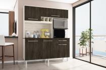 Cozinha Classic Gold 1600  Elmo com Carvalho - Madine Móveis -