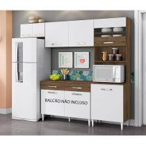 Cozinha Compacta 3 Peças Leyla Aramóveis - Aramoveis